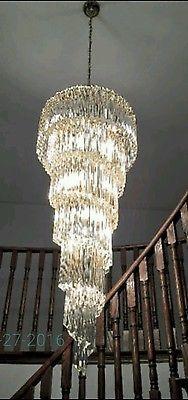1960s vintage camer murano largest venini chandelier 204 crystals 1960s vintage camer murano largest venini chandelier 204 crystals aloadofball Images