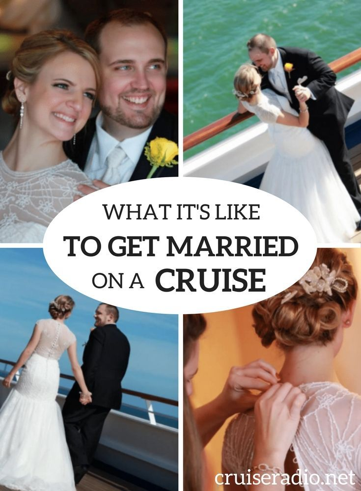 What Its Like To Get Married On A Cruise Ship Part Cruise - Getting married on a cruise ship