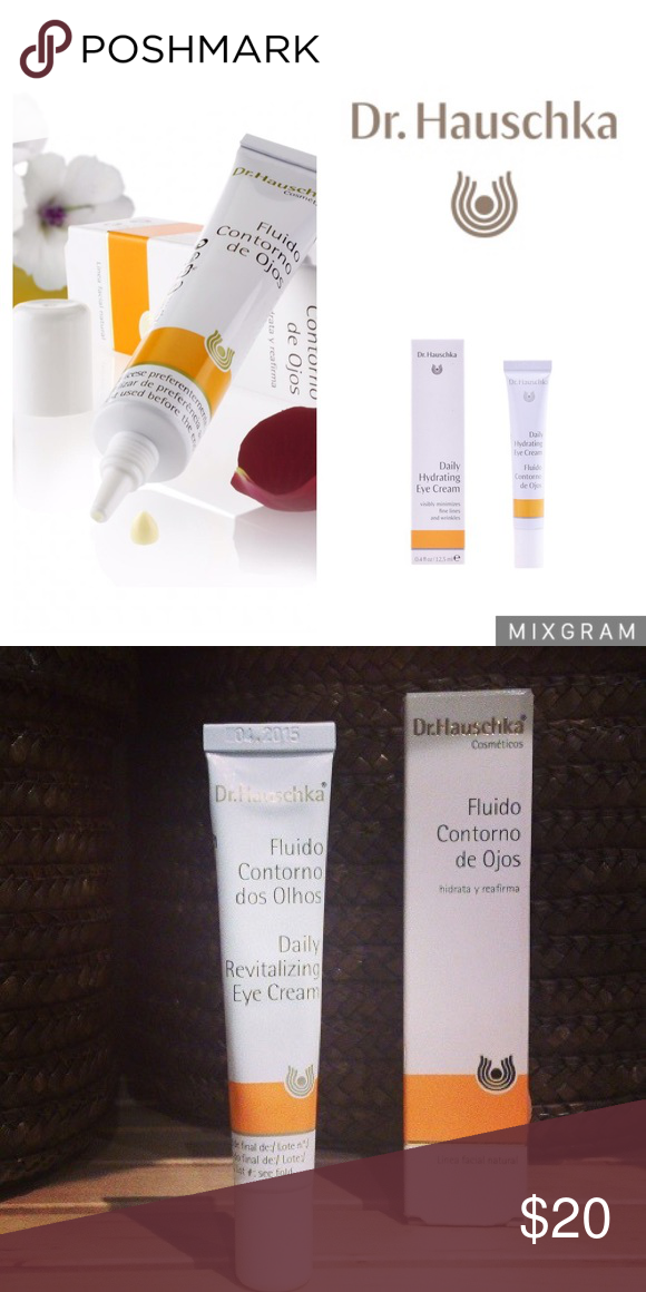 Dr Hauschka Daily Hydrating Eye Cream Firm Moisturize Help Prevent Fine Lines Other Signs Of Aging Wi Hydrating Eye Cream Premature Wrinkles Skin Firming