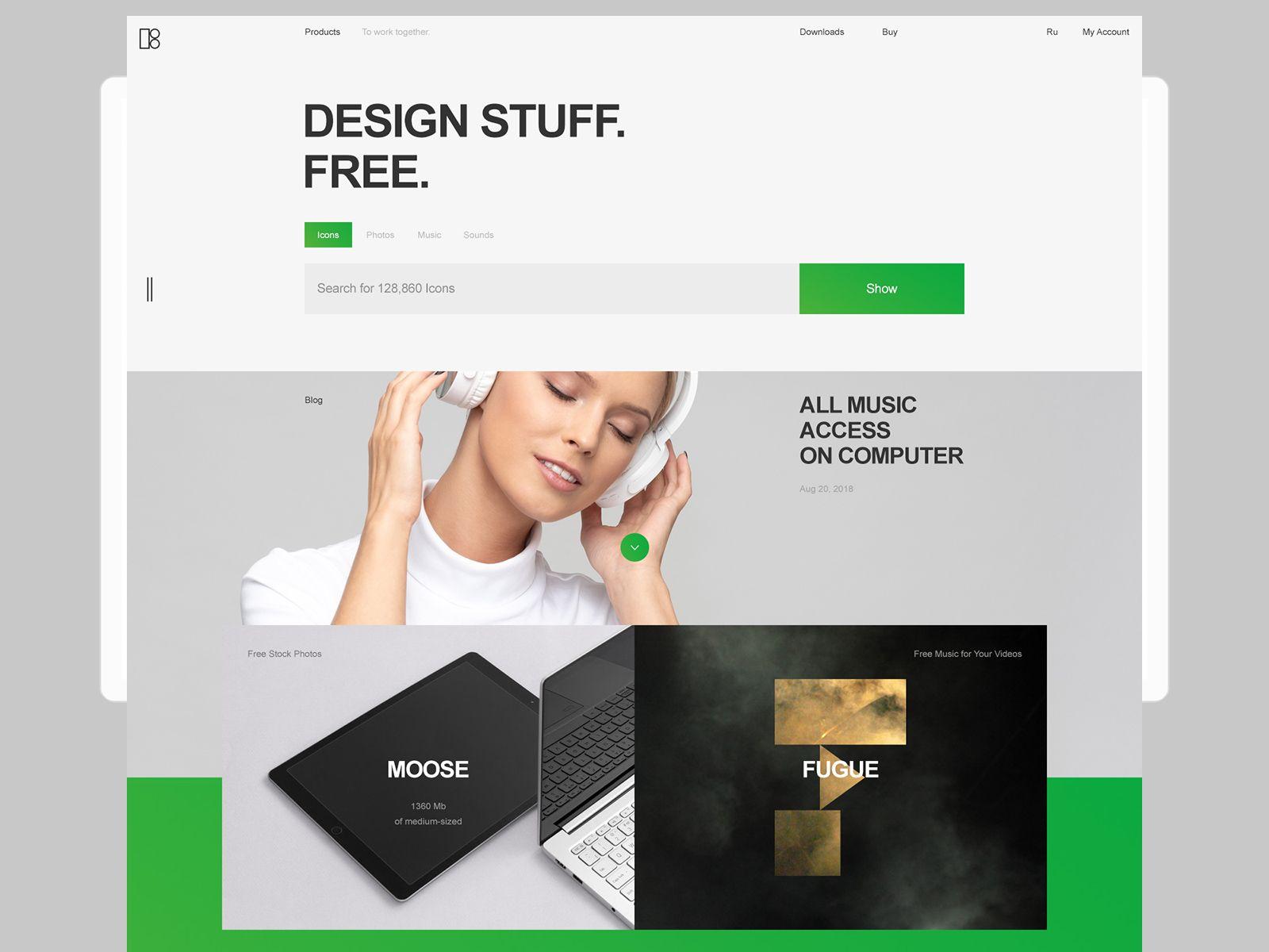 Desktop Modern Web Design Web Design Design
