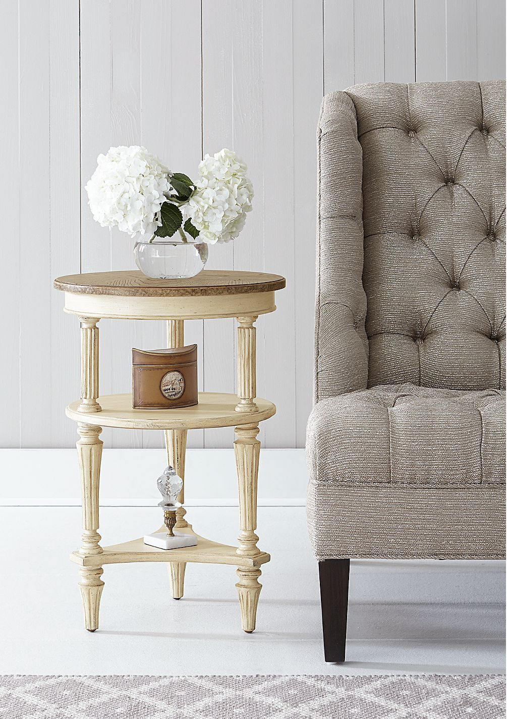 European Cottage Side Table From Stanley Furniture