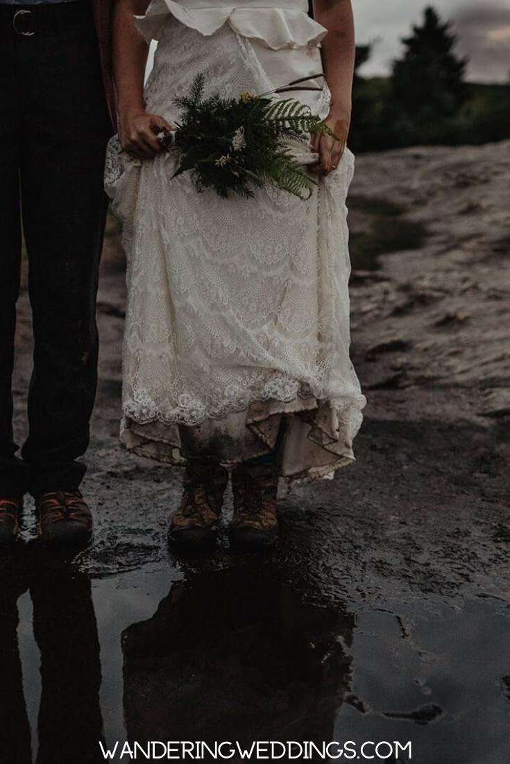 Trash The Dress Inspiration For Elopement Couples Wandering Weddings Underwater Wedding Adventure Wedding Bride Poses [ 1102 x 735 Pixel ]