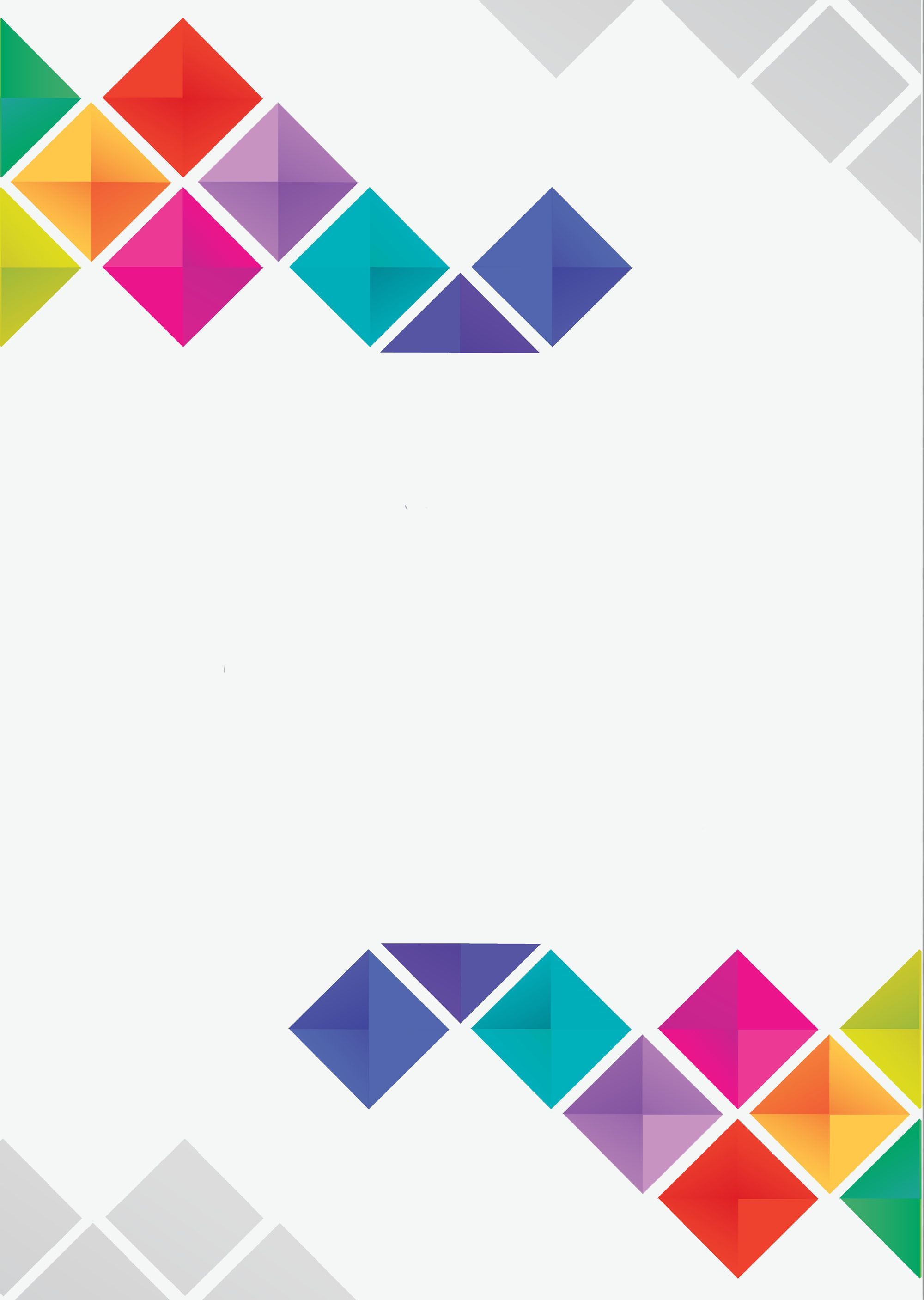 Abstract Geometric Color Pattern Posters in 2020