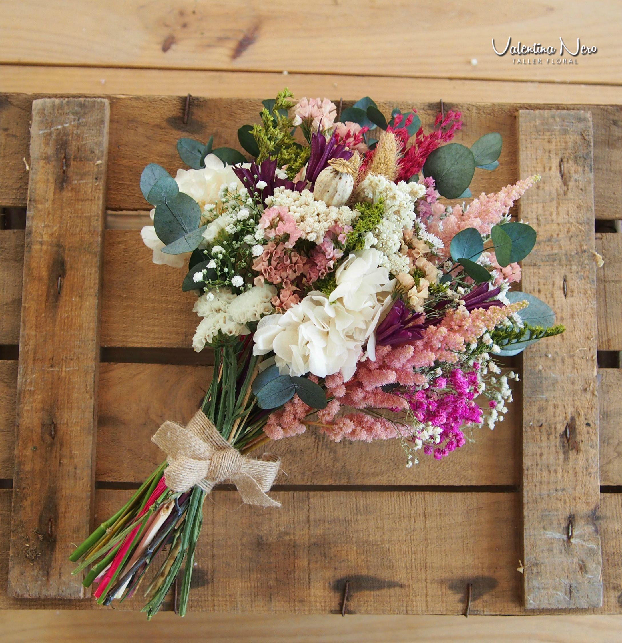 Ramo De Novia Con Flores Preservadas Ramos De Novia Con Flores