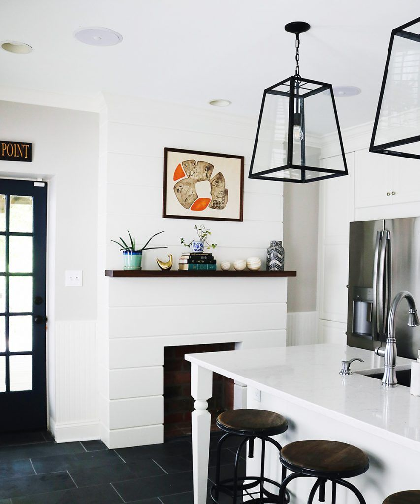 Five Simple Ways To Make Ikea Cabinets Look Expensive Ikea Kitchen Remodel White Ikea Kitchen Simple Kitchen Remodel
