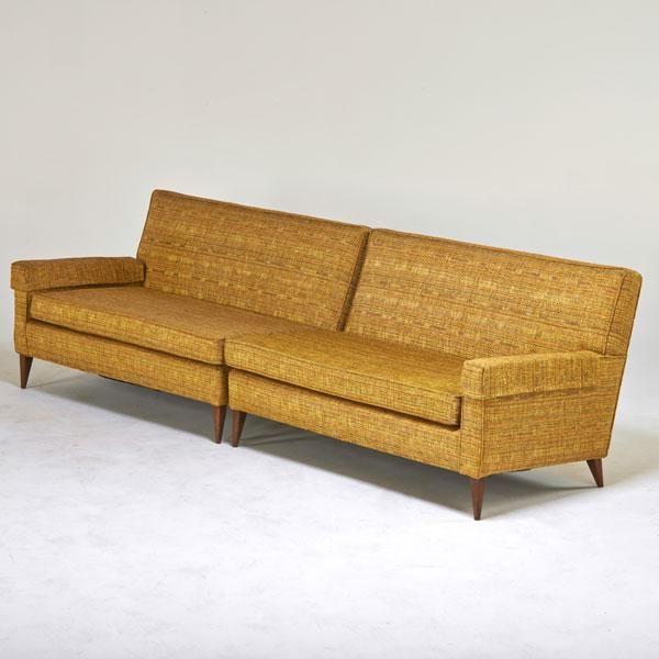 Paul Mccobb Two Piece Sofa 1950s