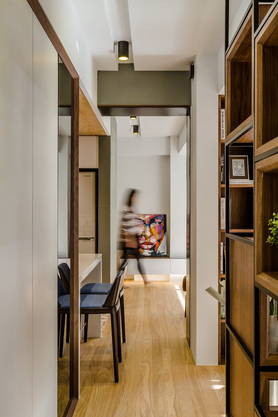 Strikingly Creative Apartment Remodel In Taipei Before After Photos Freshome Com Luxury Apartments Interior Apartment Renovation Old Apartments