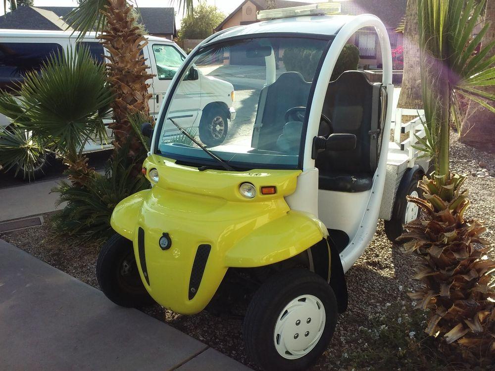 GEM GEM 2007 GEM E S Electric Vehicle Truck Golf Cart with
