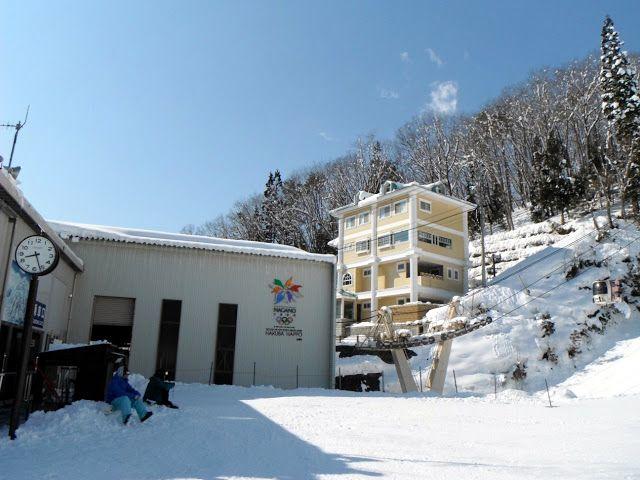 Vegan Food and Travel in Japan: Hakuba (ski field)