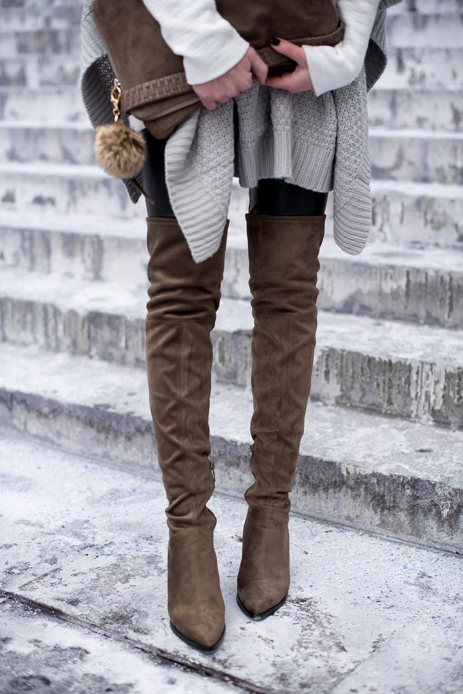 8d3e504a809 Cold Weather Style: The Poncho | shoes, shoes, shoes! | Cold weather ...
