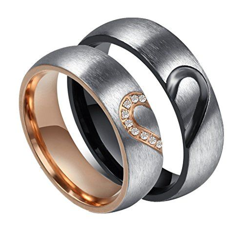 ANAZOZ 6MM Cubic Zirconia 925 Silver Affordable Wedding Rings for Women