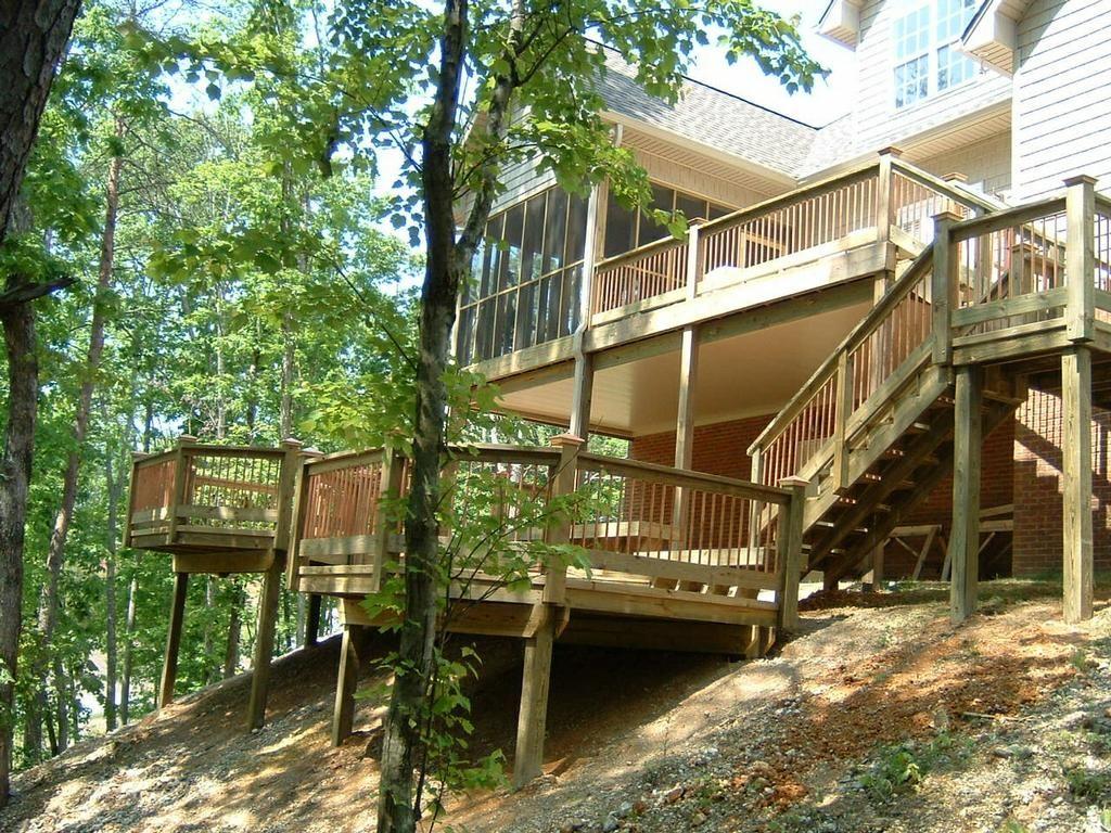 multi level deck designs 7 beach landscape pinterest deck