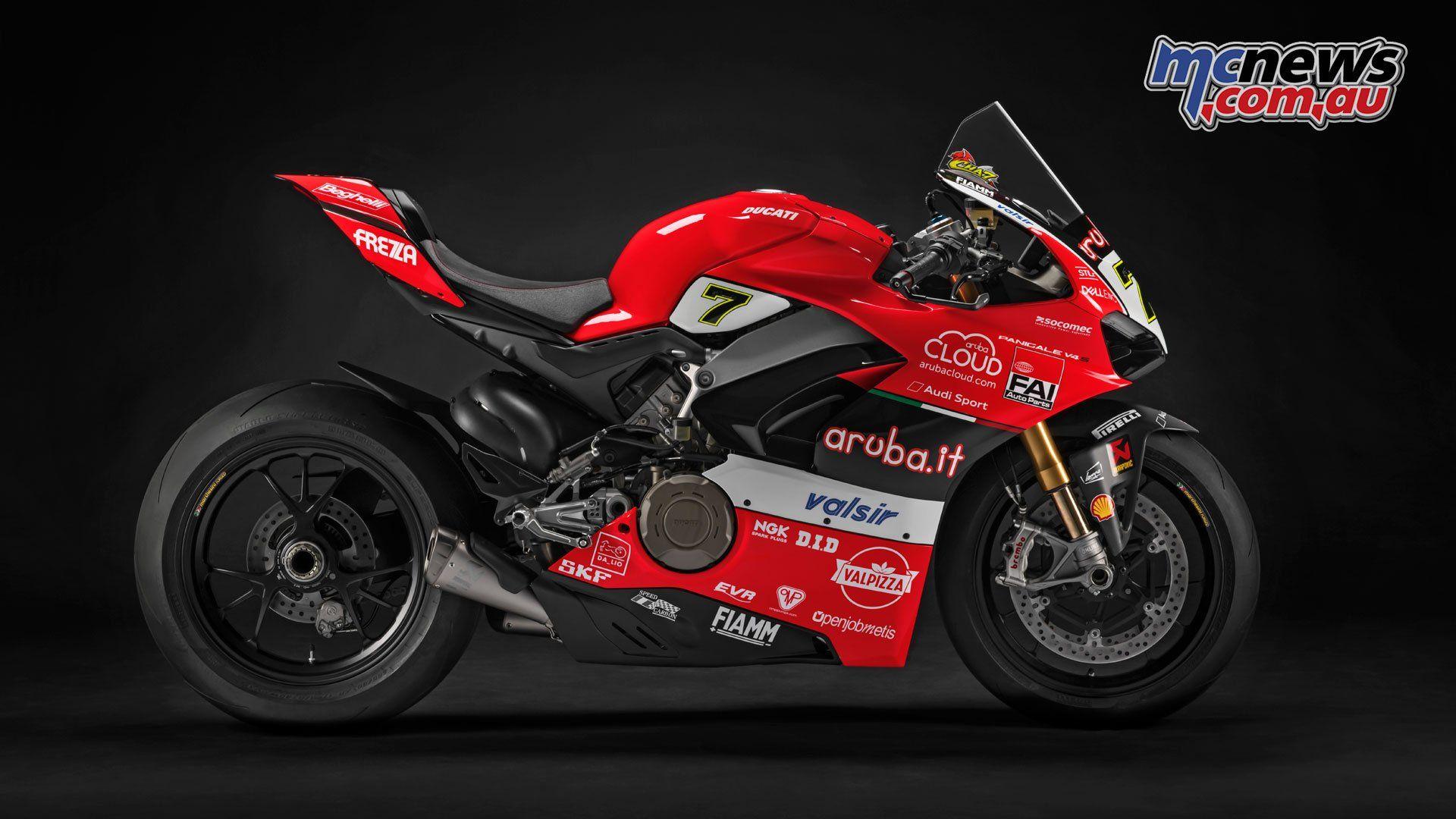 Ducati V4 Wsbk 2019 Price From Alvaro Bautista On Aruba Ducati Panigale V4 For Wsbk 2019 Mcnews Pertaining To Ducati V4 Wsbk Ducati Panigale Panigale Ducati