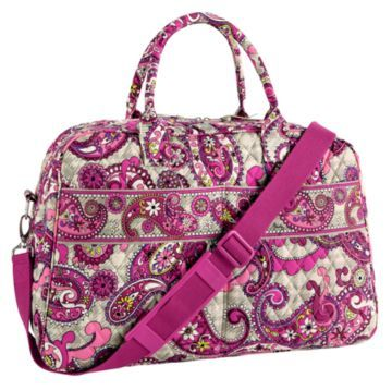 Vera Bradley Weekender In Paisley Meets Plaid 94 Bag Bags