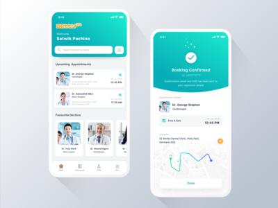 Minimal Login & Register Screen | App design | App design
