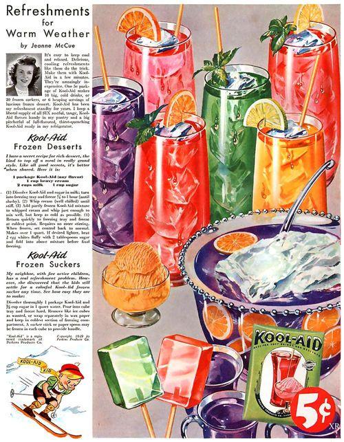 Vintage soft drinks