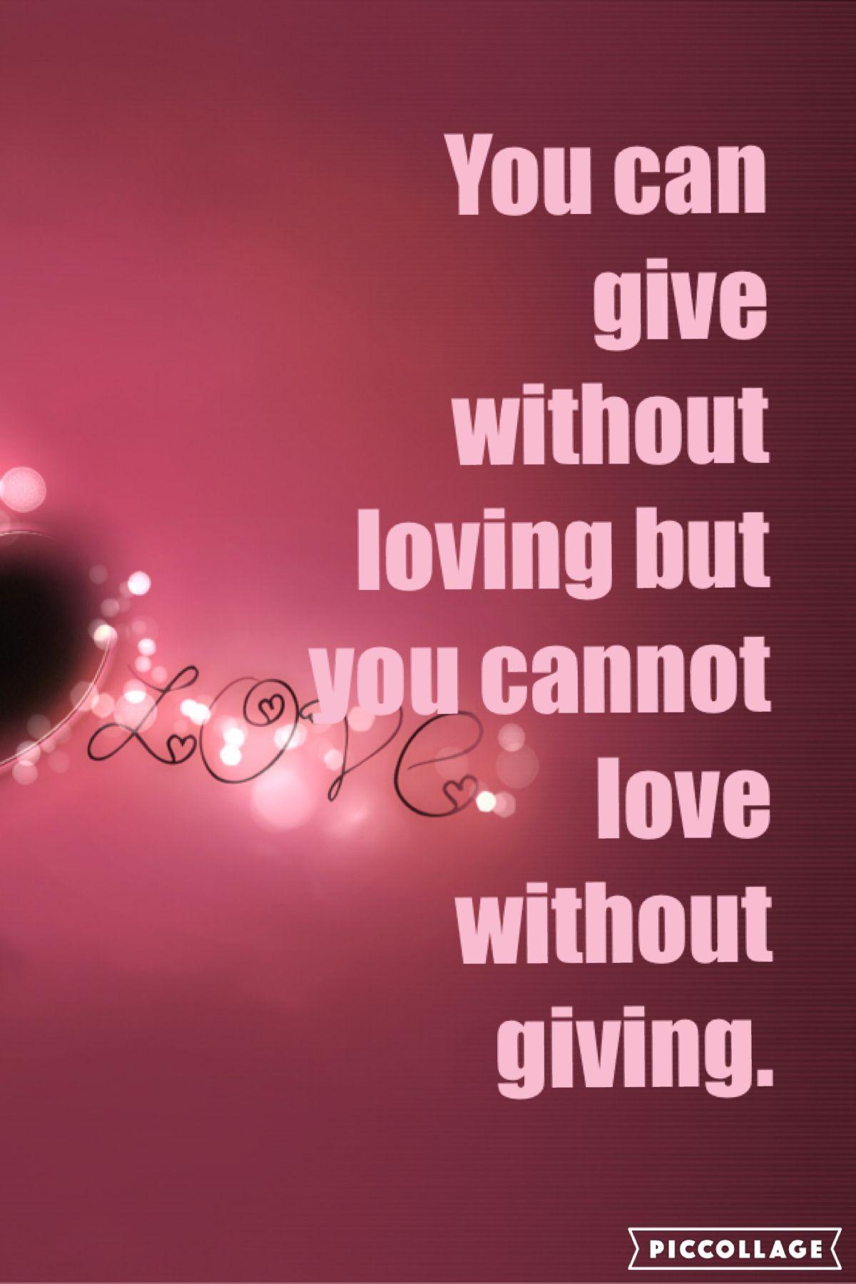 #love #give