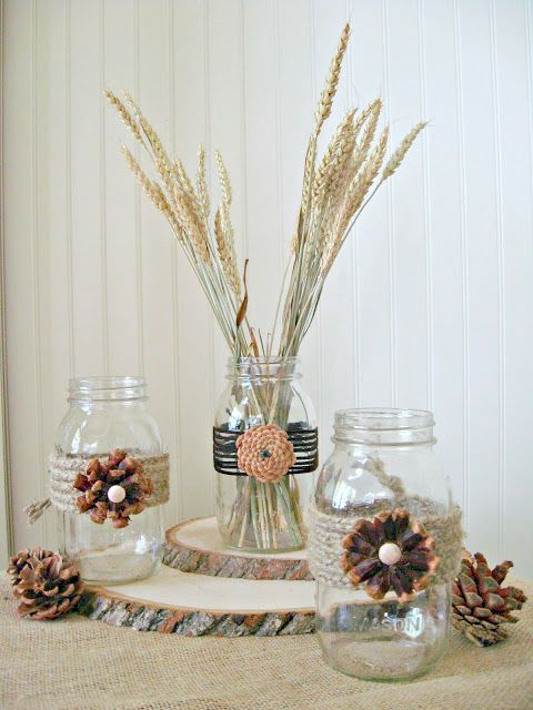 Do it yourself decorating fall craft pine cone crafts rustic do it yourself decorating fall craft home stories a to z solutioingenieria Choice Image