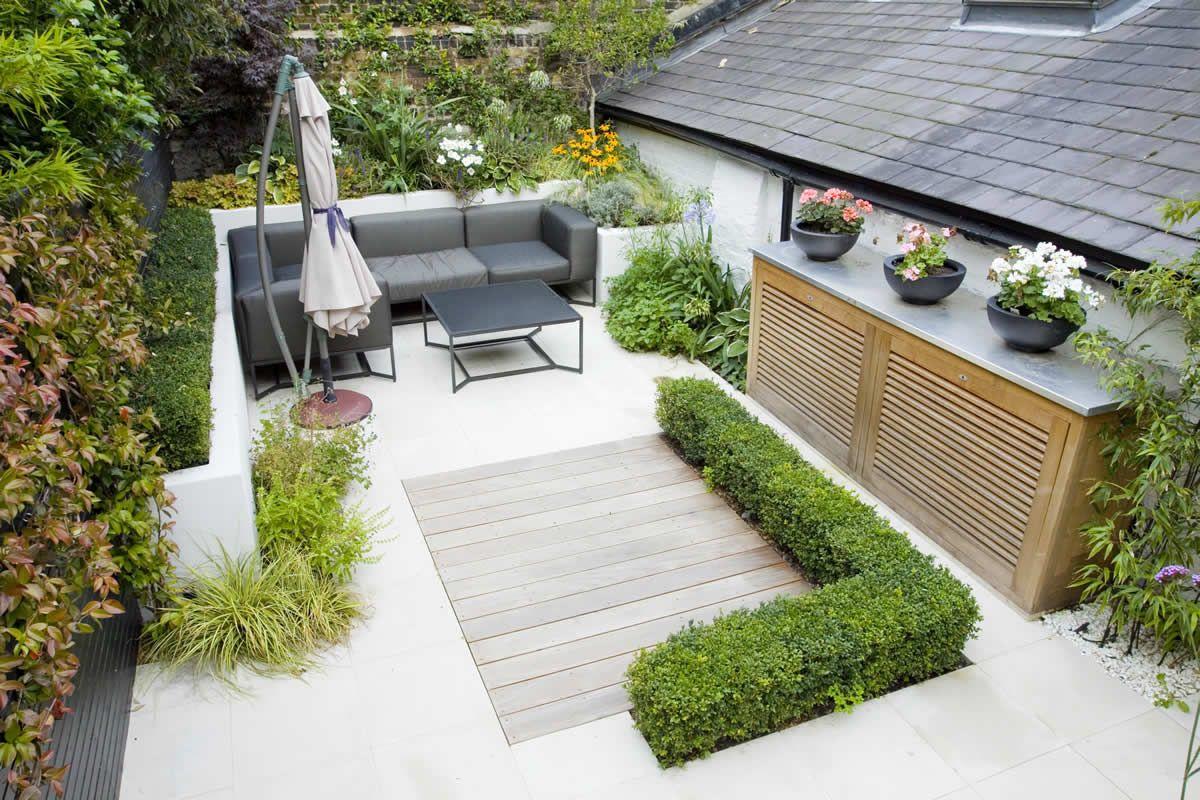 Patios Gardens Seating Courtyard Gardens Design Small Garden Design Garden Spaces Modern garden ideas no grass