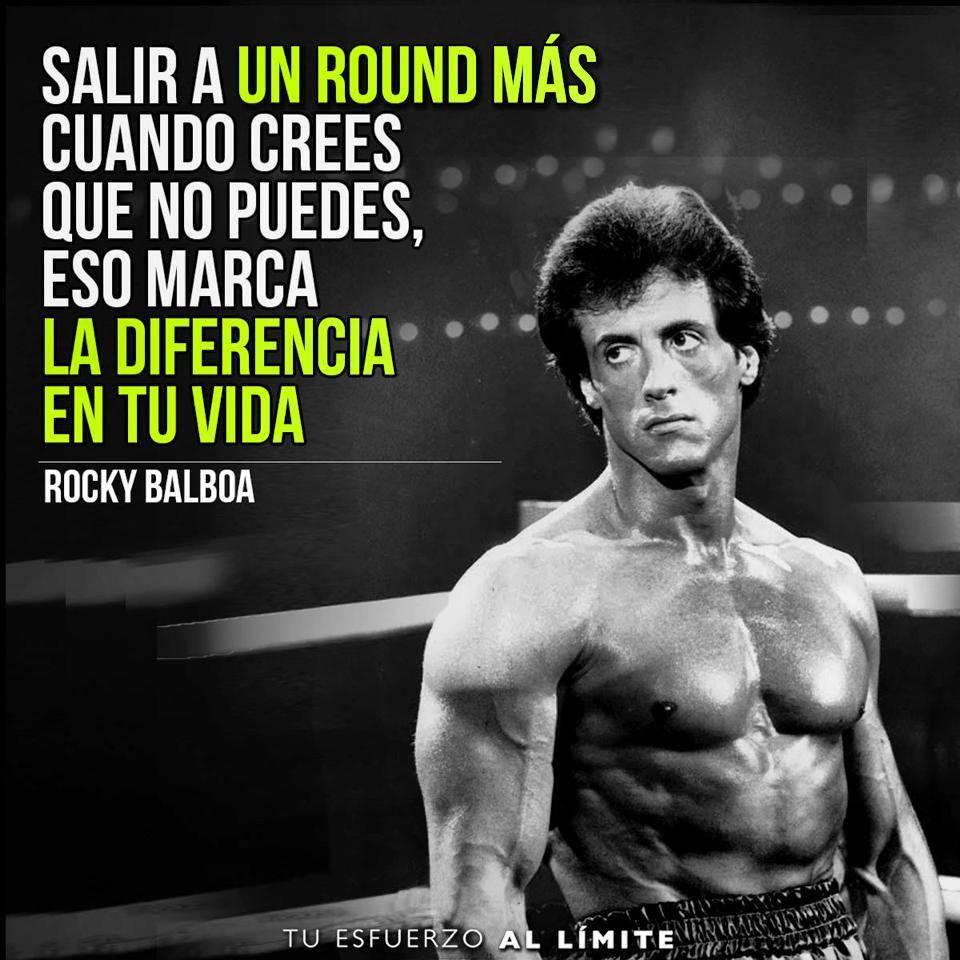 Resultado De Imagen Para Rocky Balboa Frases Frases