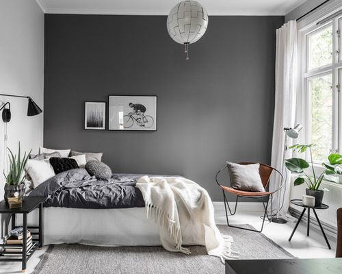 Minimalist Scandinavian Bedroom For Small Rooms Master