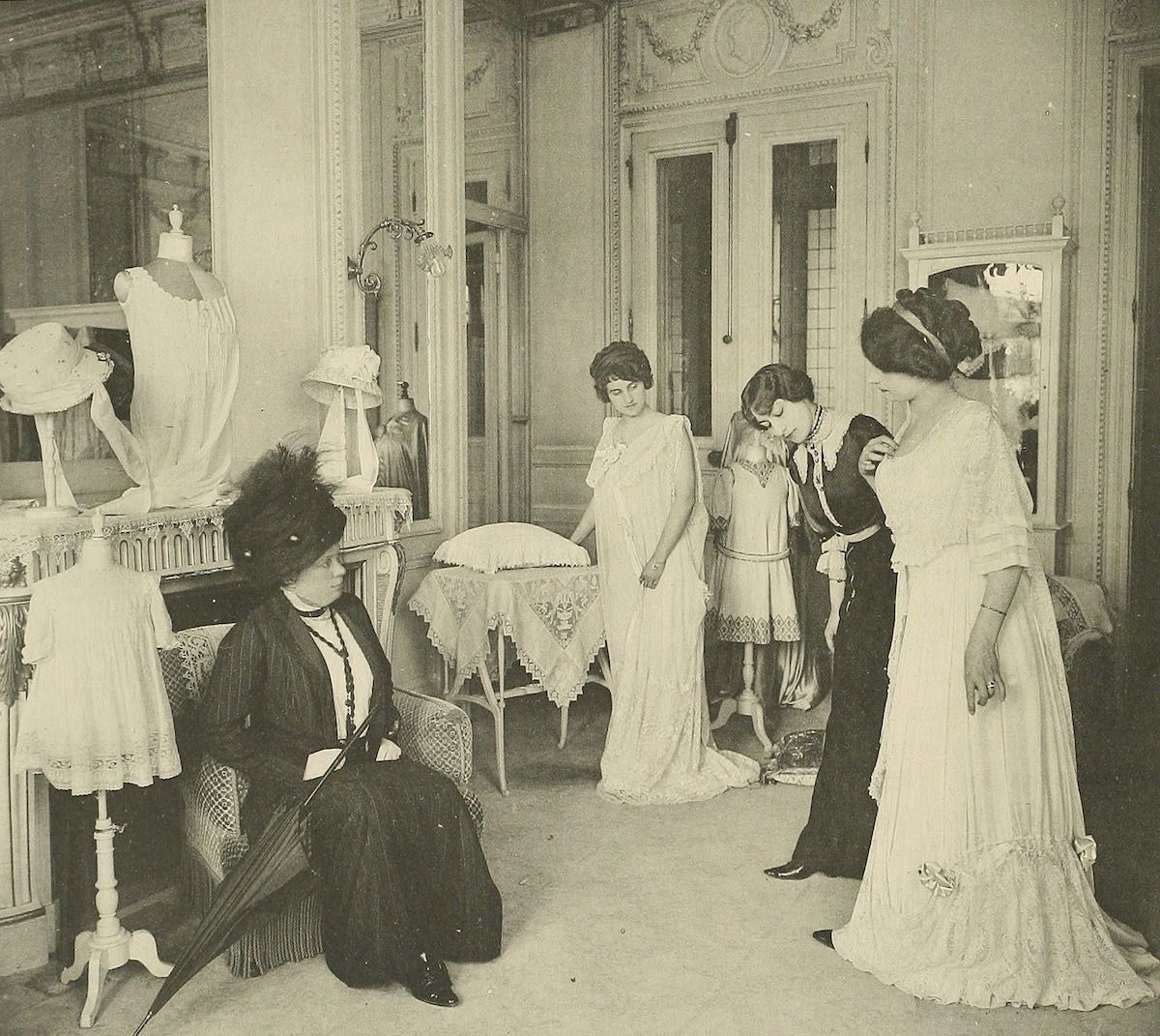 Working in the paris fashion industry years ago belle epoque