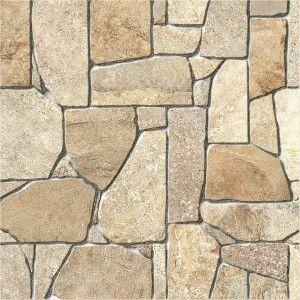 Piso piedra indie arena 45x45 casa interiores pisos decoraci n hogar revestimiento ba o - Revestimiento para bano ...
