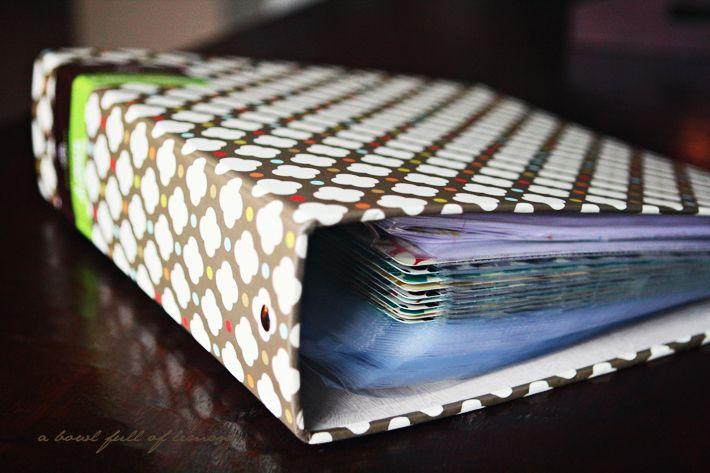 how to make a coupon binder