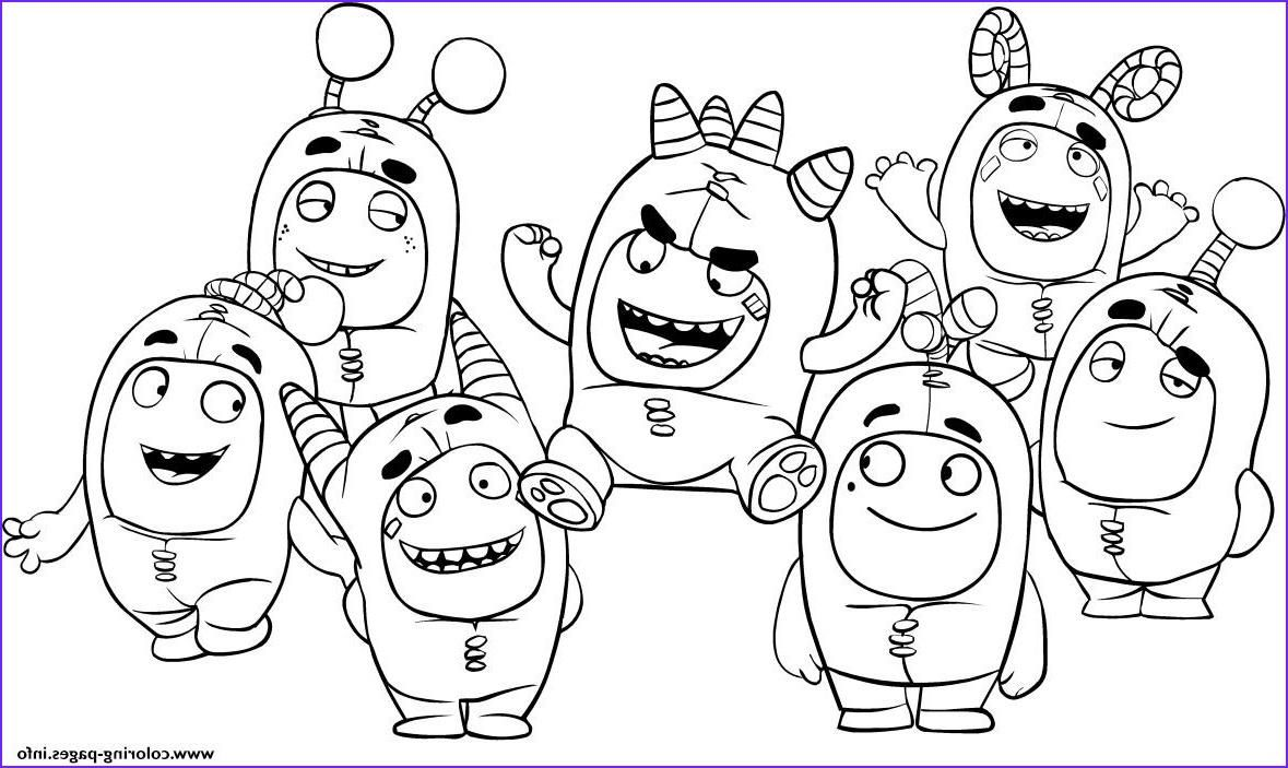 Nice Coloring Page Oddbods That You Must Know You Re In Good