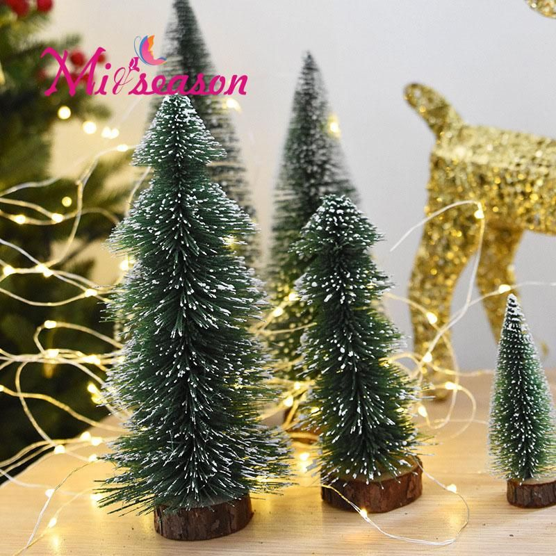 Miiseason 5 PCS Mini Artificial Christmas Tree Fake Pine tree Xmas