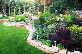 Stones And Boulders And Decorative Uses In A Garden Or 400 x 300