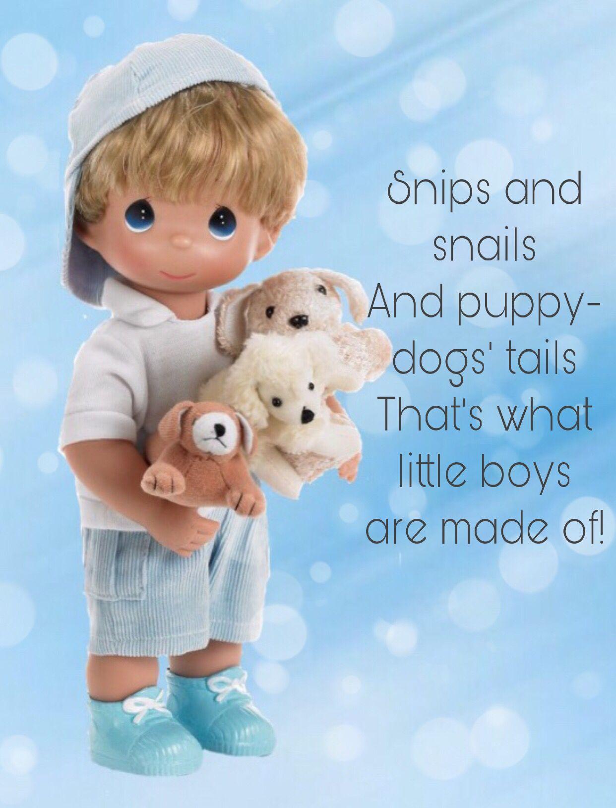 "Precious Moments Doll Boys will be boys 12/"" Doll"