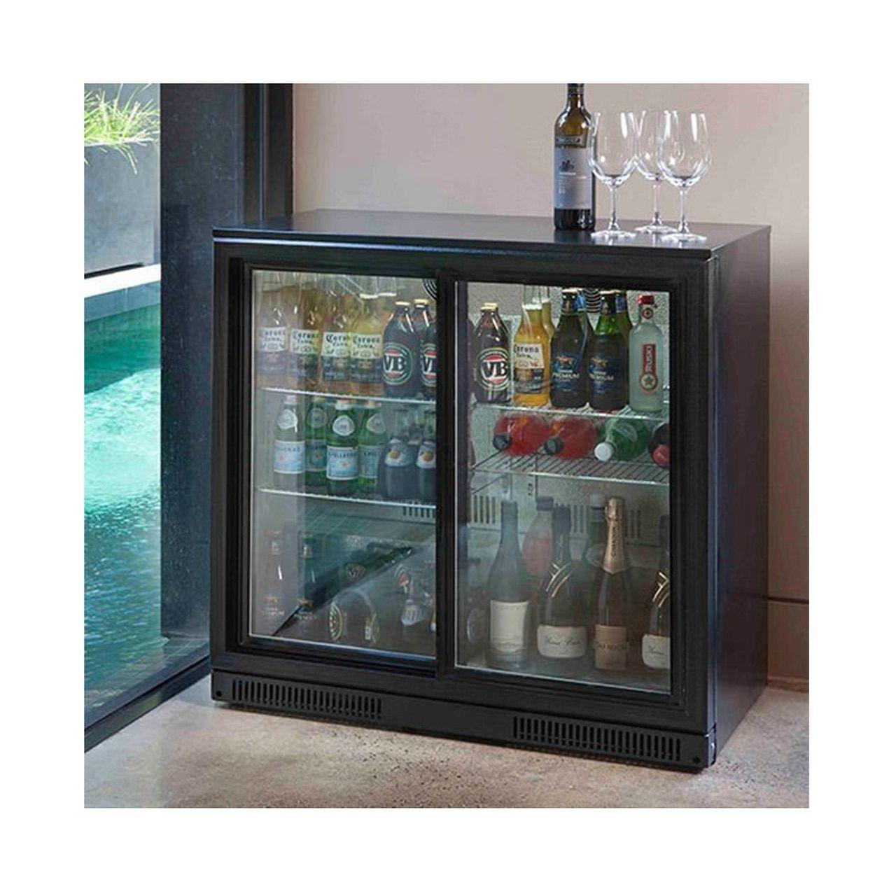 Gasmaster 228l Glass Door Bar Fridge In 2020 Bar Fridges Door Bar Glass Door