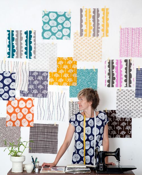 Lotta Jansdotter's new fall line - Echo! Seriously need a ton of this! Gorgeous!