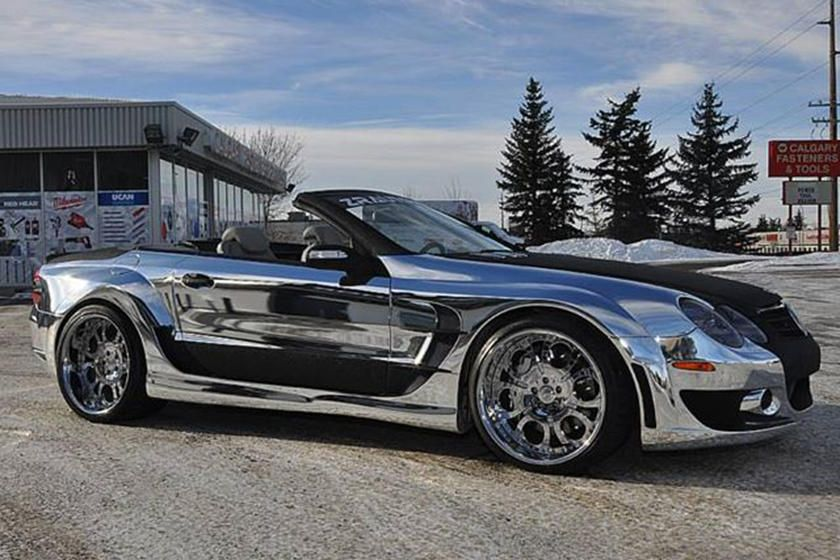 Kleeman Mercedes SL55 AMG Is One Crazy Cabrio CarBuzz