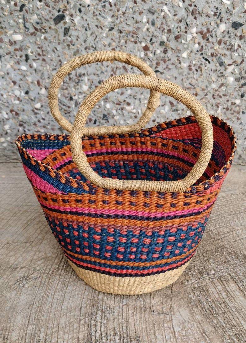 Baby girl gift basket small storage basket baby gift
