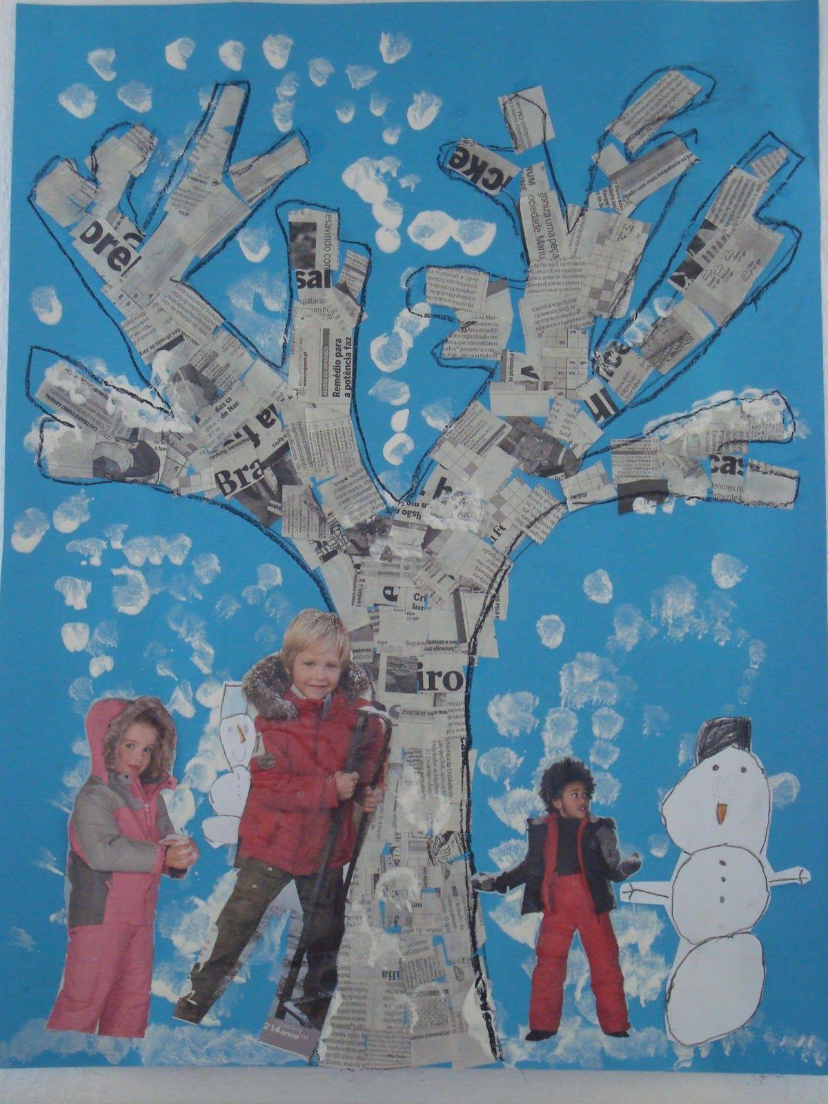 Pin By Jolana Pavlíková On Výtvarka Pinterest Basteln Winter
