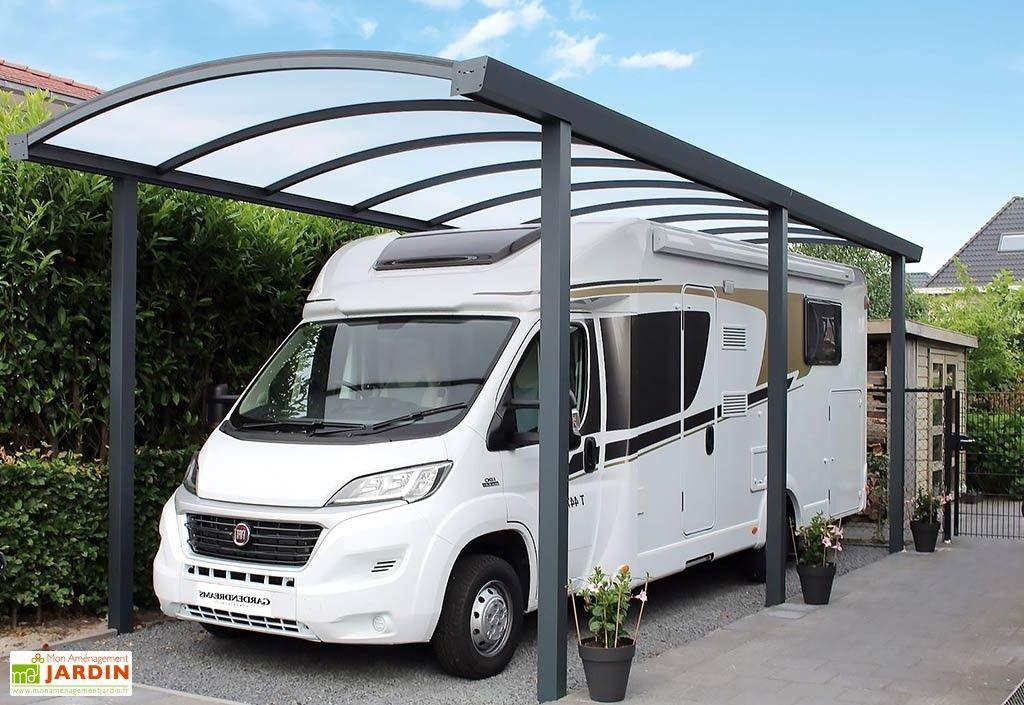Carport CampingCar Aluminium et Polycarbonate 16 mm