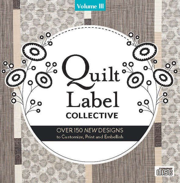 Quilt Label Collective CD Vol 3	20274