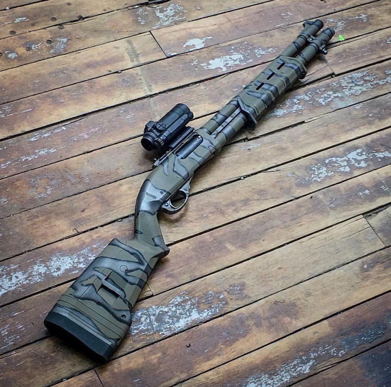 Cool paint job escopetas armas de fuego armas