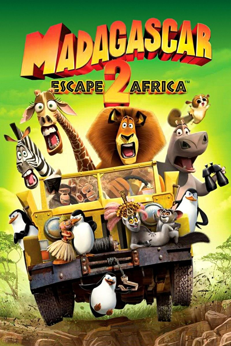 Madagascar Movie Poster (#10 of 11) - IMP Awards