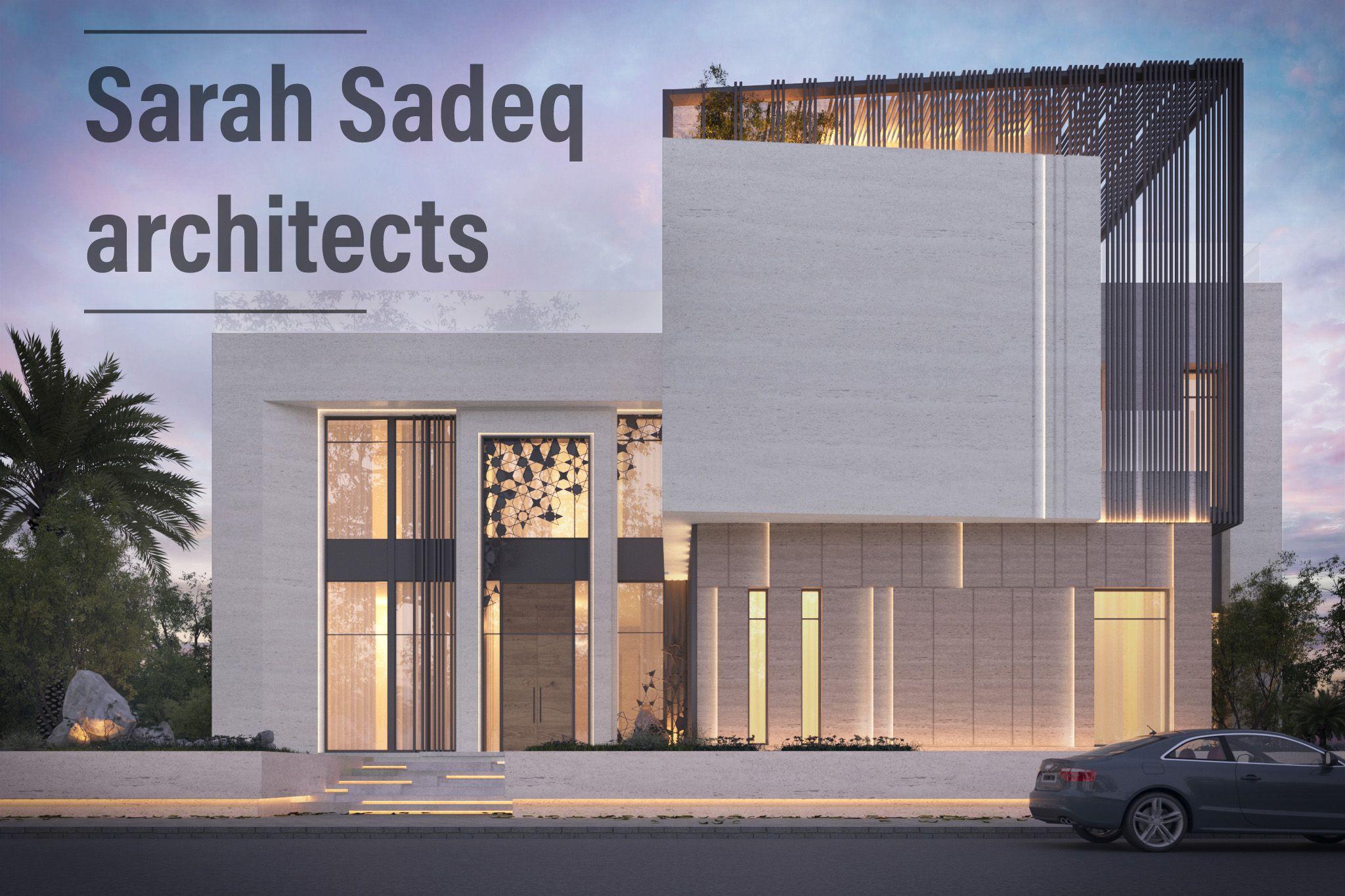 private villa by sarah sadeq architect dubai face de pinterest. Black Bedroom Furniture Sets. Home Design Ideas