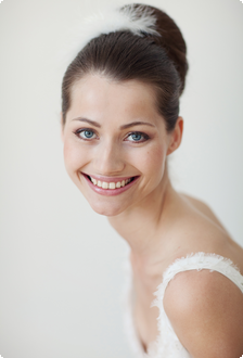 Foto Birgit Hart; Bridal Hair & Make-up by www.brautzauber.de