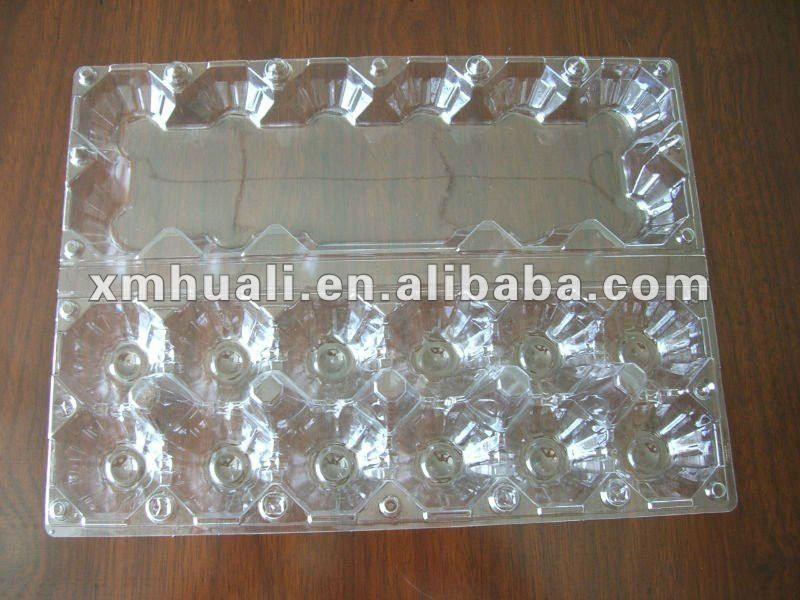 Wholesale 12 Holes Clear Plastic Egg Cartons 0 027 0 032 Watercolor Plastic Eggs Plastic Packaging Tray