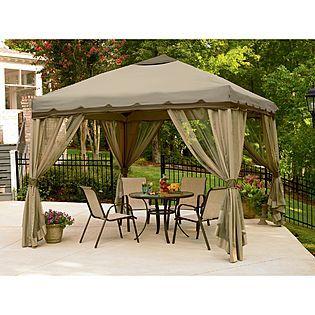 Garden Oasis Garden Pop Up Gazebo On Sale 134 99 Was 249 At Kmart Patio Gazebo Backyard Gazebo Canopy Tent Outdoor