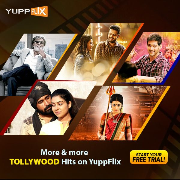 #YuppFlix is offering the best #Tollywood Telugu Movies online with simple registrations.