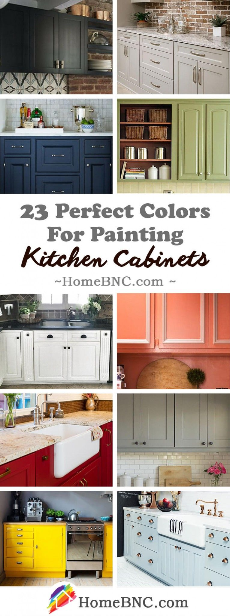 perfect color ideas for painting kitchen cabinets that will add