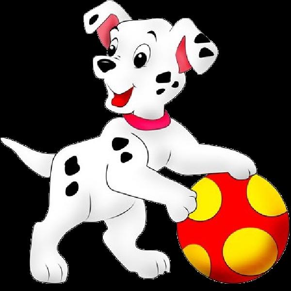 Рисунок собака играет с мячом в 2020 г | Рисунки диснея ...