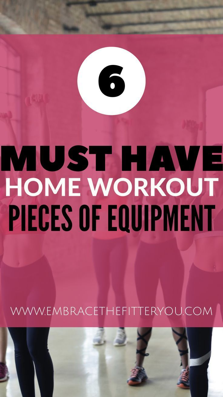6 Must-Have Home Workout Tools
