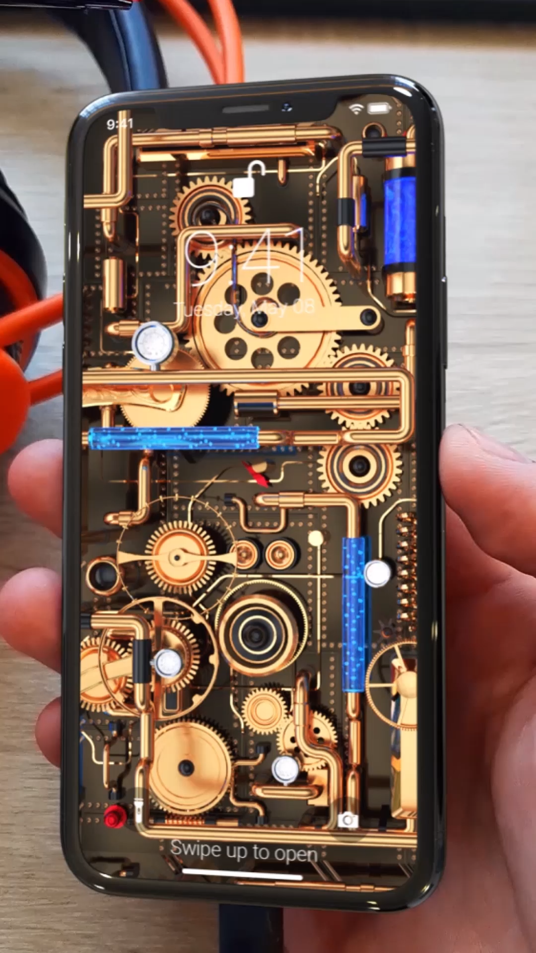 Steam Punk Live Wallpaper for iPhone